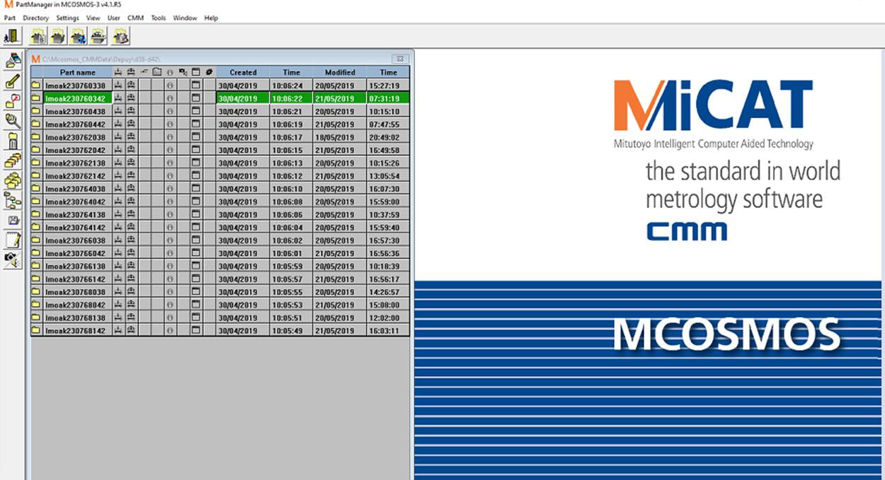 cmm programming  in UK and Europe